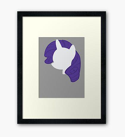 Rarity Framed Print