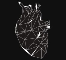 Stone Heart Black One Piece - Short Sleeve