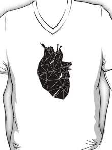 Stone Heart Black T-Shirt