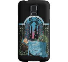 The Sleeping Rose - Blue Dress Samsung Galaxy Case/Skin