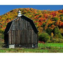 Fall in Northwest PA Photographic Print