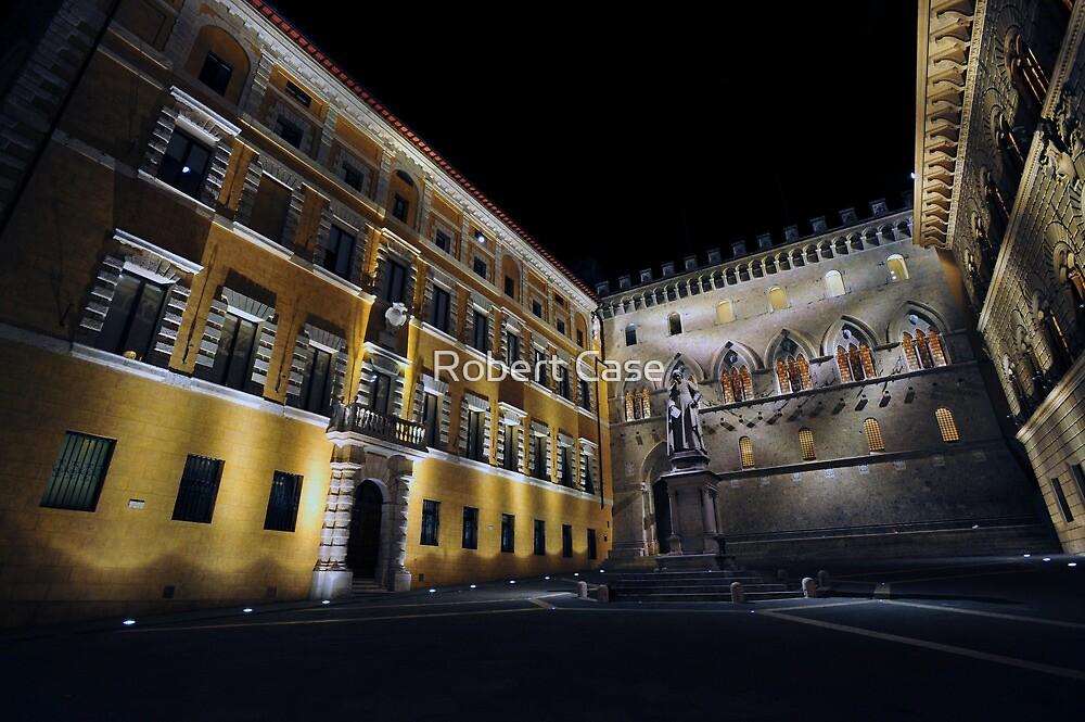 Piazza Salimbeni by Robert Case