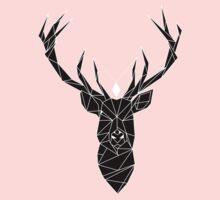 Deer Black Kids Clothes