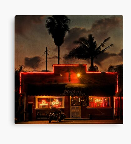 Coldest Beer in Town Canvas Print
