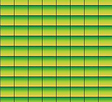 Green to Yellow Pattern by xorbah