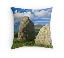Watchers in the Ring Throw Pillow