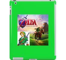 Legend of Zelda Ocarina of Time iPad Case/Skin