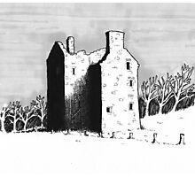 Knockhall Castle Photographic Print