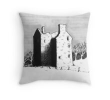 Knockhall Castle Throw Pillow
