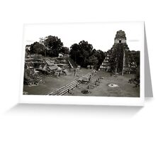 Grand Plaza & Temple I Greeting Card
