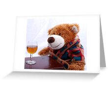 Nightcap Greeting Card