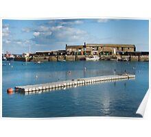 Cobb Harbour ~ Lyme Regis Poster