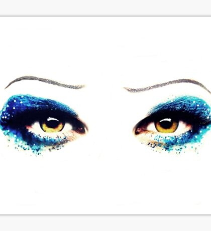 Darren Criss Hedwig's Eyes Sticker