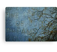 Time of Dreams Canvas Print