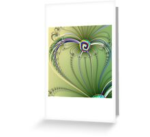 TWISTED HEART Greeting Card