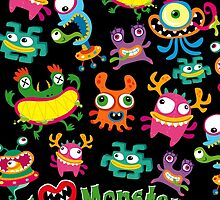 I LOVE MONSTERS by Marc Mones