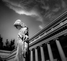 Statue at the Legion by Richard Mason