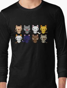Cute Kitty Cats Long Sleeve T-Shirt