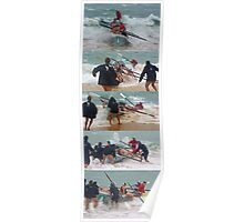 Shore break wins Poster