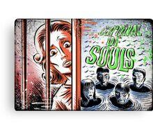 Carnival of Souls, Art, joe badon, horror, sci fi, science fiction, b-movie, bmovie, cult classic retro film criterion candace hilligoss herk harvey thriller circus 60's 50's vintage  Canvas Print