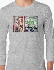 Carnival of Souls, Art, joe badon, horror, sci fi, science fiction, b-movie, bmovie, cult classic retro film criterion candace hilligoss herk harvey thriller circus 60's 50's vintage  Long Sleeve T-Shirt