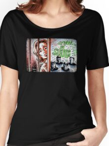 Carnival of Souls, Art, joe badon, horror, sci fi, science fiction, b-movie, bmovie, cult classic retro film criterion candace hilligoss herk harvey thriller circus 60's 50's vintage  Women's Relaxed Fit T-Shirt