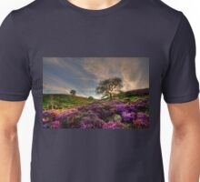 Heather in the Evening Unisex T-Shirt