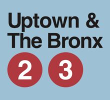 Uptown & The Bronx Baby Tee