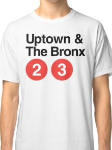 Uptown & The Bronx Classic T-Shirt