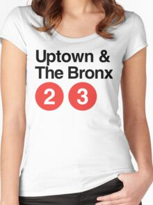 Uptown & The Bronx Women's Fitted Scoop T-Shirt