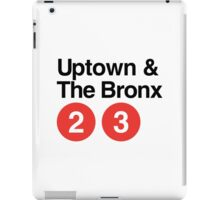 Uptown & The Bronx iPad Case/Skin