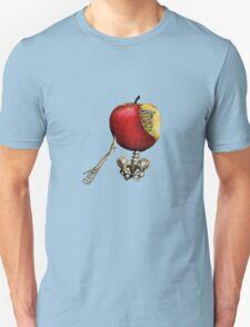 apple skeleton Unisex T-Shirt