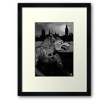 Werewolf in London Framed Print