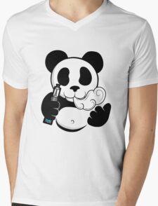 Vape Panda  Mens V-Neck T-Shirt