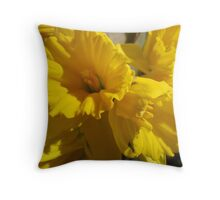 Daffy Dillies!  Throw Pillow