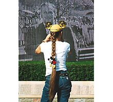 True Believer Girl Disney Fan Walt Disney Land California's 50th. Anniversary 2005 Photographic Print