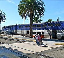 Amtrak Surfliner #566 Arriving at San Diego - © 2010 by Jack McCabe