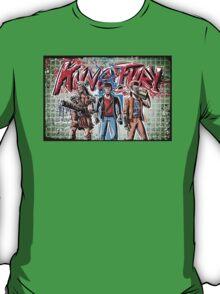 Kung Fury, Art, Kickstarter, Swedish, David Sandberg, Hackerman, Barbarianna, David Hasselhoff, cartoon, film, movie, ninja, kung fu, nazi, 80's, 80s, joe badon T-Shirt