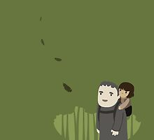 Hodor and Bran by murphypop