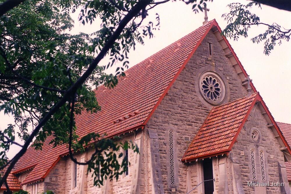 Historic Sandstone Church by Michael John