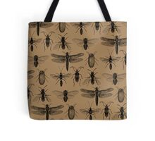 Entomology studies pattern Tote Bag