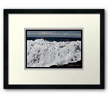 Marshmallow Rocks.......... Framed Print
