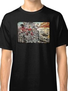 Doof Warrior, Mad Max, Art, Guitar Player, guitar, flame guitar, flame, fury road, joe badon Classic T-Shirt