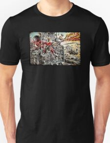 Doof Warrior, Mad Max, Art, Guitar Player, guitar, flame guitar, flame, fury road, joe badon T-Shirt