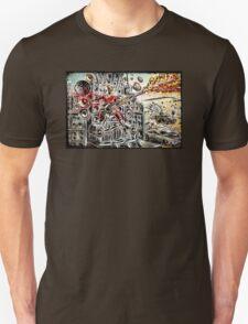 Doof Warrior, Mad Max, Art, Guitar Player, guitar, flame guitar, flame, fury road, joe badon T-Shirt