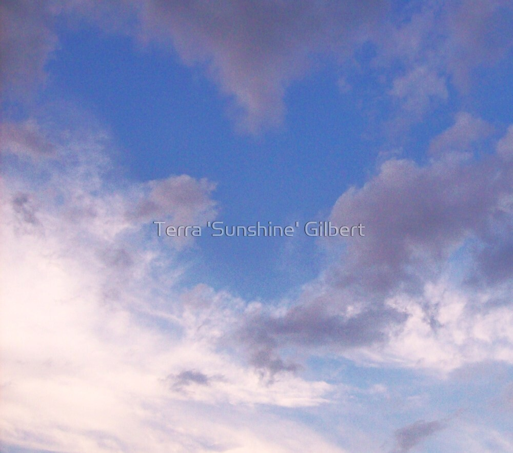 HEART IN THE CLOUDS by Terra 'Sunshine' Gilbert