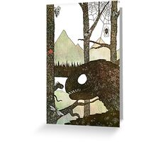 Forest Serpents Greeting Card