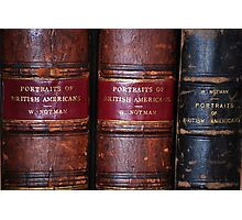 19th Century Books/Notman/Photography Photographic Print
