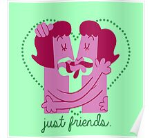 Just Friends (Girl vers.) Poster