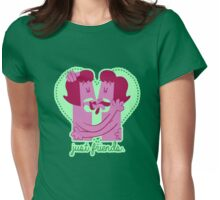 Just Friends (Girl vers.) Womens Fitted T-Shirt